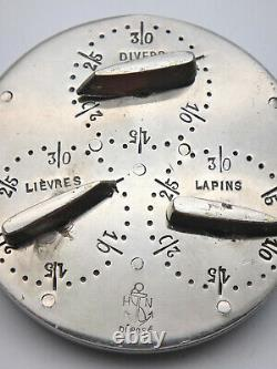 Former Gibier Silver Brass Hunting Meter