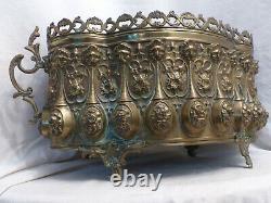 Former Golden Brass Gardener 19th Napoleon III Antique French 19th