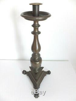 Former Grand Chandelier, Candlestick Bronze Tripod
