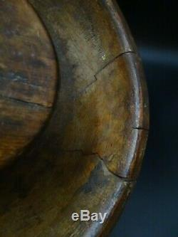 Former Pousset Wood Plat A Drain Faisselles The Popular Art Upper Savoy