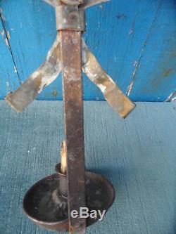 Former Rat Cellar Decor Coq Copper Candlestick