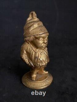 Former Superb Bronze Pyrogen Massive Character Removable Head
