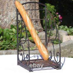 Former Wrought Iron Bakery Bread Display