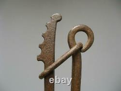Gaufrier Made Of Wrought Iron. Late 18th Century. Early 19th Century. People's Art