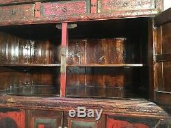 Genuine Old Chinese Cabinet Late Nineteenth Unique Piece