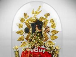 Grand Globe Bridal Curiosity Cabinet Glass Globe's Curiosity Taxidermy 1904