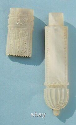 Handbag Old Sewing Kit Nacre Royal Palace Early 19th Century