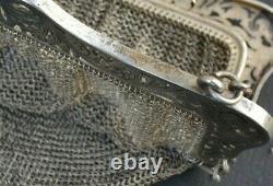 Handbag Stock Exchange Solid Silver Helmsman