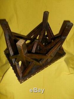 Head Stool Of Work From Journeyman Carpenter Du Devoir Popular Art