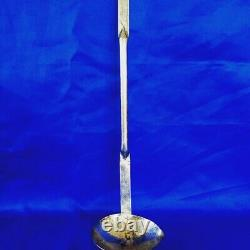 High Epoque Rare Ladles In Silver Forged Medieval Renaissance 17 Eme