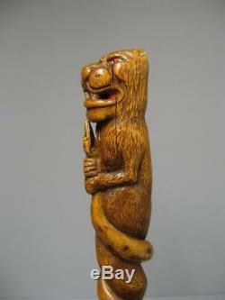 In Nineteenth Carved Cane Buis. L'isle Adam