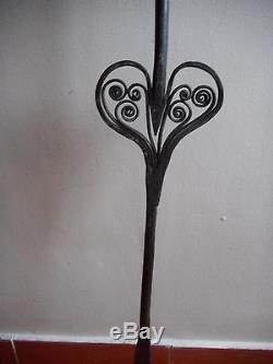 Large Forge Wedding Fork. Xvii. A Roast, Roast. Folk Art