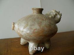 Large Pre-columbian Terracotta Vase Culture Colima