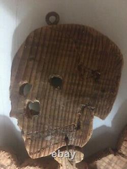 Large Skeleton Rare Wood Pine Object Curiosity Popular Art Year 1960