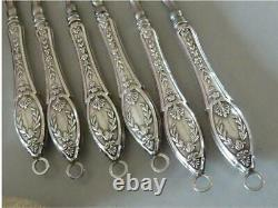 Lot Of Objets Anciens Silver Massif Wild Boar Of The 19th Manucure And Purse, 174g