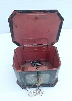 Louis Philippe Fake Marble Fake Iron Safety Box