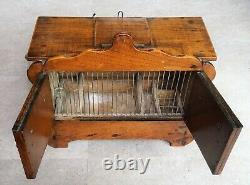 Magnificent Cage Cabinet For Singing Birds Circa 1900