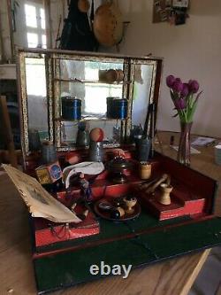 Malette 19th Century Magic Magician Box Rare Collection