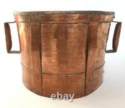 Measure XVIII Eme, Large Copper Ferrate For Grain, Water