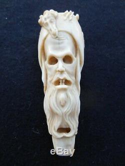 Memento Mori Rare Whistle 9.5cm Folk Art Whistle