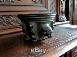 Mortar Gothic Bronze. High Era, Folk Art Collection