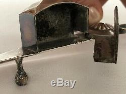 Mouchette Bronze Argente 18 Eme Rich Style Of Folk Art Shell C2024