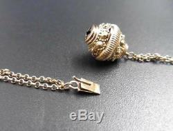 Necklace Slavery Folk Art Gold Old Necklace Auvergnat Bijou Régional