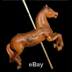 Nineteenth Riding Horse, Carved Wood