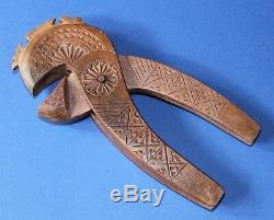 Nutcracker Carved Wooden Knife Beautiful Object Of Folk Art