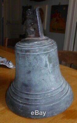 Old Big School Bell Or Bronze Chapel Weight 5.9 KG