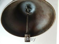 Old Bronze Bell Devouassoud Chamonix # 2 Debut S 20th