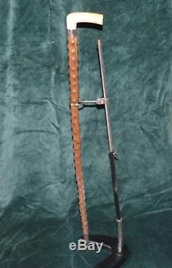 Old Cane With Rare Vintage System Gadget Cane