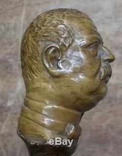Old Collection Rod Antoine Bismark Head In Hazel Root