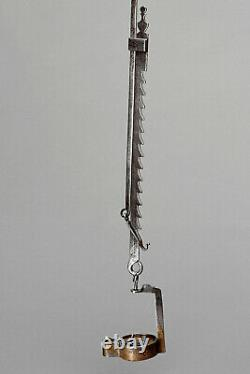 Old Forged Rack-hole Lamp Mine Minor Object Popular Art Frog-lamp