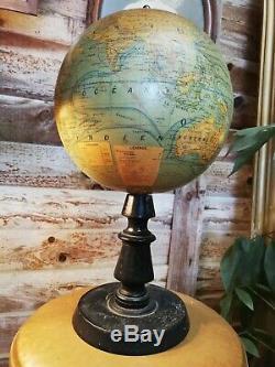 Old Globe Forest / Napoleon 3 / Globe / Old World Map