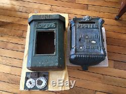 Old Mailboxes Ptt Said Mougeotte And Foulon