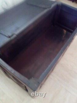 Old Original Box (maie) In Walnut Diamond Tip