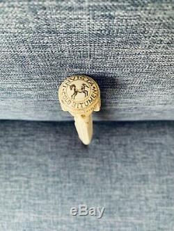 Old Pommel Cane Head Degyptian XIX Eme