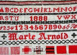 Old- Primer 1888 Black And Red