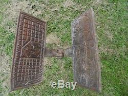 Old Rosffrey Waffle Maker H / Ostia Mold / Popular Art