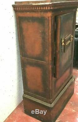 Old Safe Wood Taule Steel Nineteenth Century