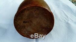 Old Sandstone Puisaye Ceramic Popular Art Pottery Bottle Nineteenth Calf