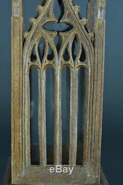 Old Shrine Reliquary Gothic Art Cathedral Viollet Duc Popular Wood