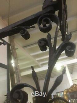 Old Sign Blacksmith Bouquet Saint Eloi Sculpture Folk Art Stable