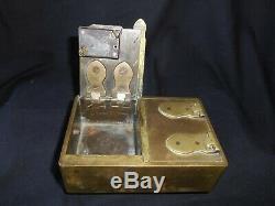 Old Small Safe Key Lock Key Folk Art 19th XIX Key Tool