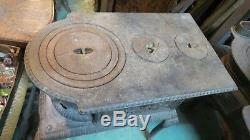 Old Wood Stove Cast Iron