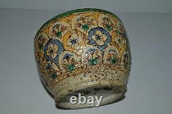 Oriental Ceramic Bol Origin Kabile Berbere Africa Of North Xvii/xviii