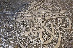 Ottoman Islamic Calligraphy Ancient Art Mamluk Damascus / Certific + Provenance