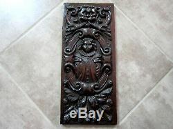 Panel Carved Oak 17th. Haute Époque, Collections, Decoration