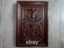 Panel Oak Renaissance Style. High Era, Carved Wood Paneling, Decorative